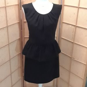 T. Milano black sleeveless dress